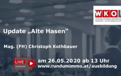"Update: ""Alte Hasen"" 2020"