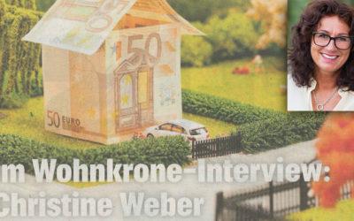 Wohnkrone Interview – aktuelle Trends